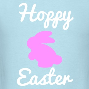 Hoppy Easter 1 Pink Baby Bodysuits - Men's T-Shirt