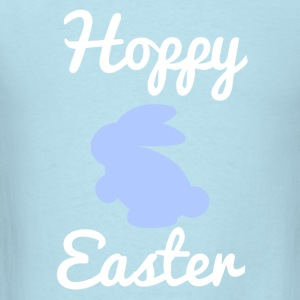 Hoppy Easter 1 Blue Baby Bodysuits - Men's T-Shirt
