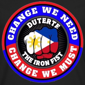 duterte2 T-Shirts - Men's Premium Long Sleeve T-Shirt