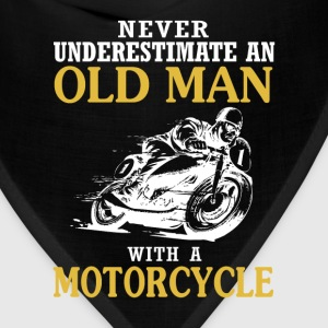 OLD MAN WITH A MOTORCYCLE - Bandana