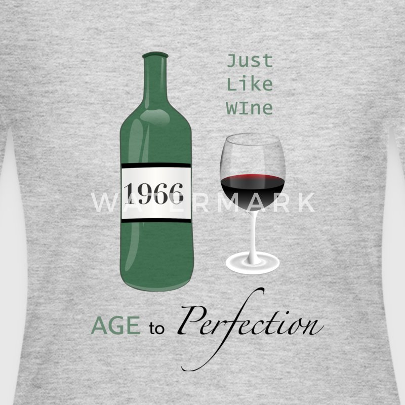 Just like wine 1966 50th Birthday - Women's Long Sleeve Jersey T-Shirt