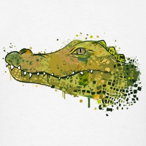Crocodile Graffiti Sportswear - Men's T-Shirt