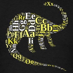 Dino alphabet Sportswear - Men's T-Shirt