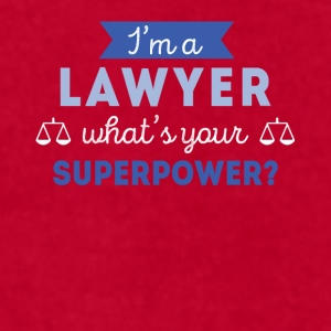 Lawyer Superpower Professions Attorney T Shirt Mugs & Drinkware - Men's T-Shirt by American Apparel