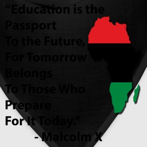 LocStar Revolution Malcolm X Education - Bandana