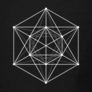 Sacred geometry / Minimal Hipster Line Art Bags & backpacks - Men's T-Shirt