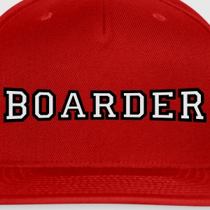 boarder T-Shirts - Snap-back Baseball Cap