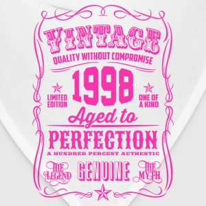 Vintage 1998 Aged to Perfection 18th Birthday Women's T-Shirts - Bandana
