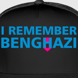I Remember Benghazi - Trucker Cap