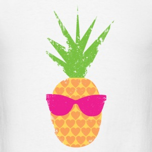 Rockin Lovin Pineapple - Men's T-Shirt