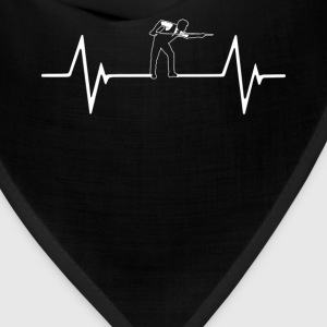 Billiard Snooker Pool Heartbeat Love T-Shirt T-Shirts - Bandana