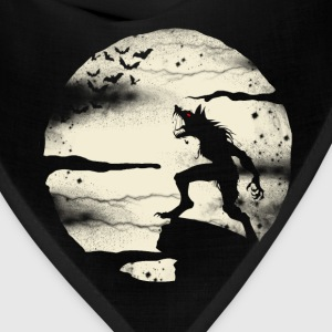 Werewolf With The Full Moon - Bandana