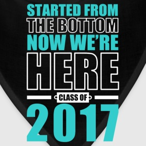 Class of 2017 Graduations T-Shirts - Bandana