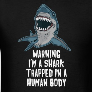 I'm a Shark Trapped in a Human Body BJJ T-shirt Sportswear - Men's T-Shirt