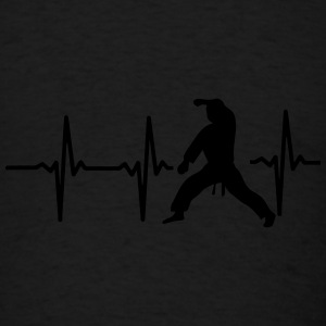MY HEART BEAT FOR MARTIAL ARTS! Sportswear - Men's T-Shirt