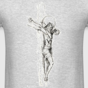 Sketched Cross Sportswear - Men's T-Shirt