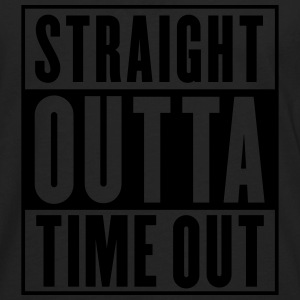 Straight Outta Time Out Kids' Shirts - Men's Premium Long Sleeve T-Shirt