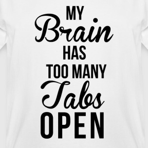 Brain Tabs  T-Shirts - Men's Tall T-Shirt