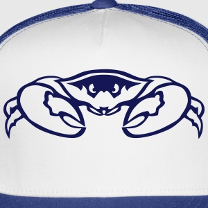 crab animal head clamp 7092 Long Sleeve Shirts - Trucker Cap