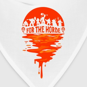World of warcraft- For the horde t-shirt - Bandana