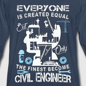 Civil engineer-The finese become civil engineer - Men's Premium Long Sleeve T-Shirt