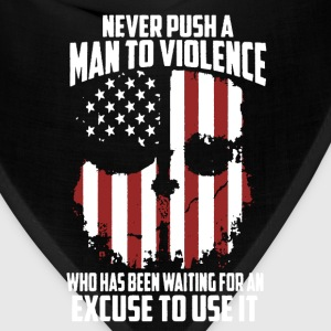 Man To Violence Shirt - Bandana