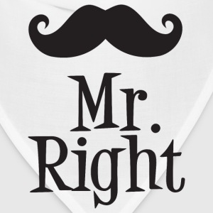 Mr. Right T-Shirts - Bandana