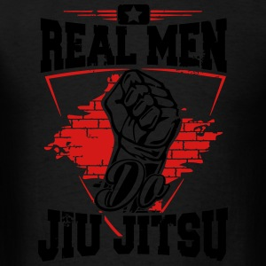 real men do jiu jitsu Sportswear - Men's T-Shirt