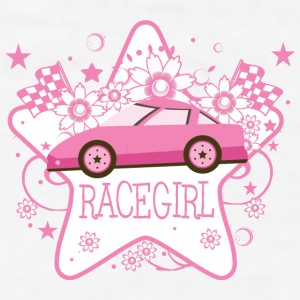 Pink Racecar  - Men's T-Shirt