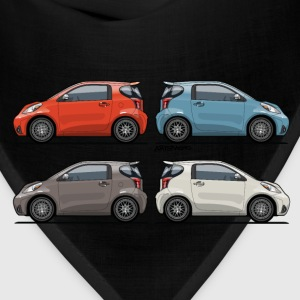 Four Toyota Scion iQ Micro Cars T-Shirts - Bandana