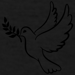 Peace Dove With Olive Branch Sportswear - Men's T-Shirt