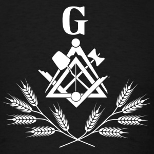 Freemasonry symbol white Sportswear - Men's T-Shirt
