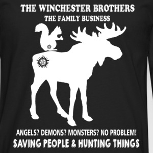 Hunting - The Winchester brothers hunting things - Men's Premium Long Sleeve T-Shirt