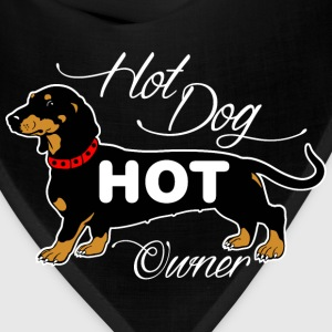 Hot Dog Hot Owner T-Shirts - Bandana