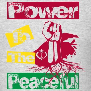 Power to the peaceful Sportswear - Men's T-Shirt