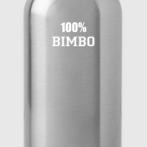 100% bimbo T-Shirts - Water Bottle