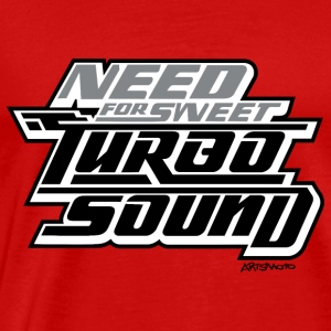 Need For Sweet Turbo Sound Sportswear - Men's Premium T-Shirt