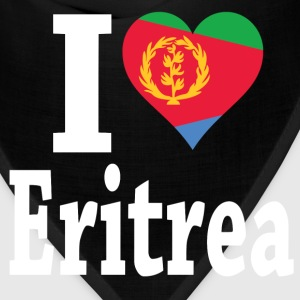 I Love Eritrea Flag t-shirt - Bandana