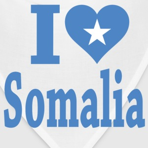 I Love Somalia Flag T-Shirt - Bandana