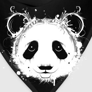A head of a panda bear Kids' Shirts - Bandana