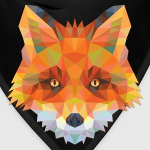 Polygonal Fox - Bandana