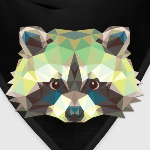 Polygonal Raccoon - Bandana