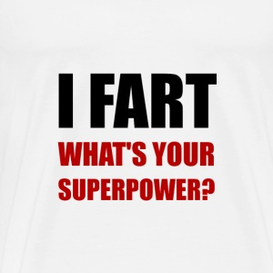Fart Super Power - Men's Premium T-Shirt