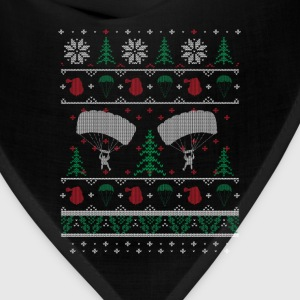 Skydiving - Awesome christmas sweater for skydive - Bandana