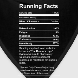 Running - All running facts awesome t-shirt - Bandana