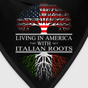 Italian - Living in america with Italian roots - Bandana