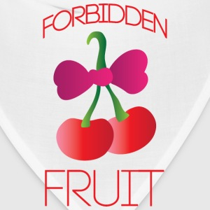 Forbidden fruit white t shirt - Bandana