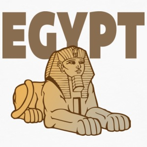 Egypt Sphinx white t shirt - Men's Premium Long Sleeve T-Shirt