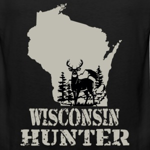 Wisconsin hunter - Men's Premium Tank
