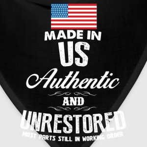 USA - Made in US most parts still in working order - Bandana